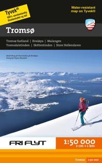 Tromsø; tur- & toppturskart i tyvek