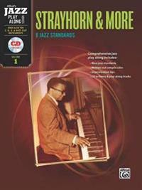 Strayhorn & More: 9 Jazz Standards for C, B-Flat, E-Flat and Bass Clef Instruments [With CD (Audio)]
