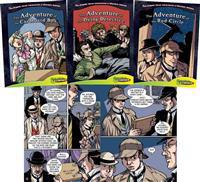 Graphic Novel Adventures of Sherlock Holmes Set 3 (Set)