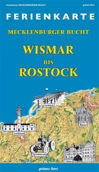 Ferienkarte Mecklenburger Bucht Wismar-Rostock 1: 100 000