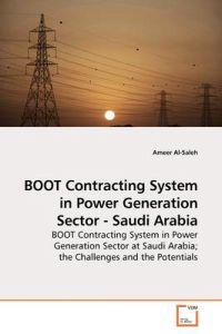 Boot Contracting System in Power Generation Sector - Saudi Arabia