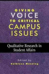 Giving Voice to Critical Campus Issues