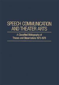 Speech Communication and Theater Arts