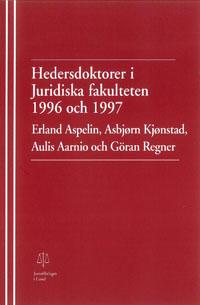 Hedersdoktorer i Juridiska fakulteten 1996 och 1997