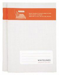 Whitelines Saddle Stitch A4 Lined Notebook (2 Pack): Supporting Your Ideas