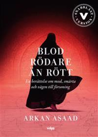 Blod rödare än rött : en berättelse om mod, smärta och vägen till försoning (lättläst) (CD + bok)
