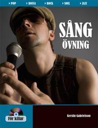 Sångövning Killar inkl 2 CD