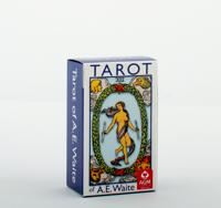 A.E. Waite Tarot Mini Blue Edition