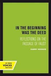 In the Beginning was the Deed