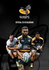 Wasps RFC Official 2019 Calendar - A3 Wall Calendar