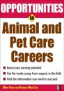 Opportunities in Animal and Pet Care Careers