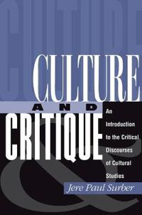 Culture and Critique
