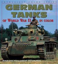 German Tanks of World War II in Color