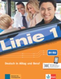 Linie 1, B1+/B2. Kurs- und Übungsbuch mit Audios und Videos