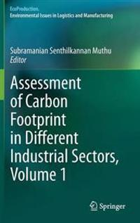 Assessment of Carbon Footprint in Different Industrial Sectors