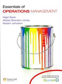 Essentials of Operations Management with MyOMLab