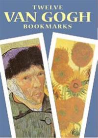 Twelve Van Gogh Bookmarks