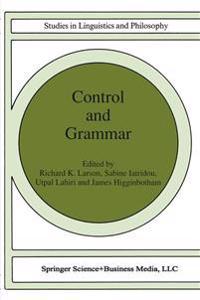 Control and Grammar