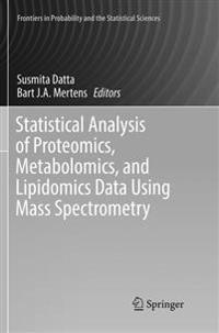 Statistical Analysis of Proteomics, Metabolomics, and Lipidomics Data Using Mass Spectrometry