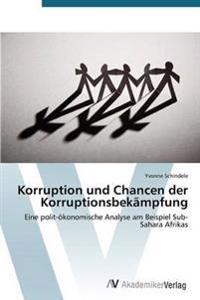 Korruption Und Chancen Der Korruptionsbekampfung
