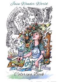 Jasu Wonder World värityskirja - coloring book