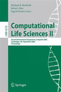 Computational Life Sciences II