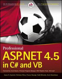 Professional ASP.NET 4.5 in Cand VB
