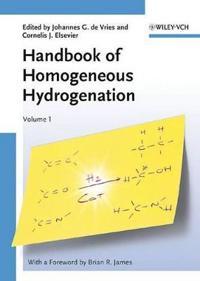 Handbook of Homogeneous Hydrogenation
