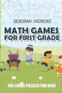 Math Games for First Grade: Kojun Puzzles - 100 Large Puzzles for Adults