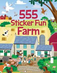 555 Sticker Fun Farm