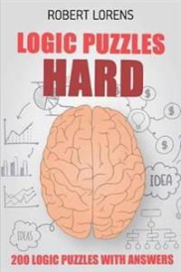 Logic Puzzles Hard: Kin-Kon-Kan Puzzles - 200 Logic Puzzles with Answers