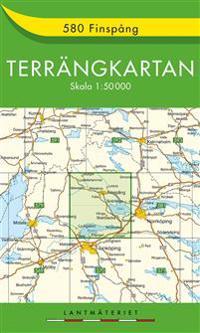 580 Finspång Terrängkartan : 1:50000