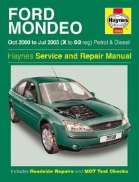 Ford Mondeo Petrol & Diesel (Oct 00 - Jul 03) X To 03