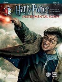 Harry Potter Instrumental Solos: Clarinet, Book & CD