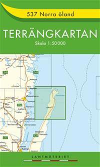 537 Norra Öland Terrängkartan : 1:50000