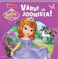Sofia esimene. värvi ja joonista!