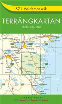 571 Valdemarsvik Terrängkartan : 1:50000