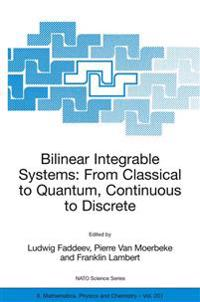 Bilinear Integrable Systems