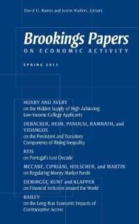 Brookings Papers on Economic Activity Spring 2013