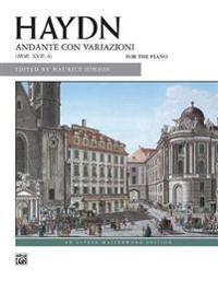 Andante Con Variazioni: Hob. XVII: 6 for the Piano