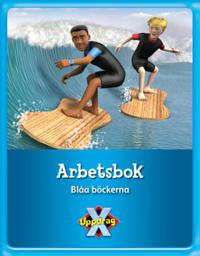 Uppdrag X - Arbetsbok Blåa böckerna