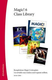 Magic! 6 Class Library - Easy readers (4 st.) med ordlista - Karin Smed-Gerdin, Eva Hedencrona pdf epub