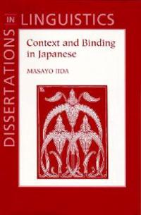 Context and Binding in Japanese