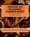 Making an Academic Career (Mac): Life and Career of a Professor (Lcp)