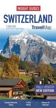 Insight Travel Map: Switzerland