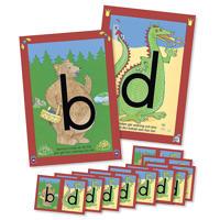 b- och d-planscher (inkl. 10 småkort)
