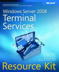 Windows Server 2008 Terminal Services Resource Kit [With CDROM]