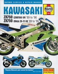 Kawasaki Zx750 Ninja ZX-7 and ZXR 750
