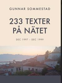 233 texter på nätet
