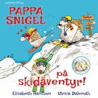 Pappa Snigel på skidäventyr